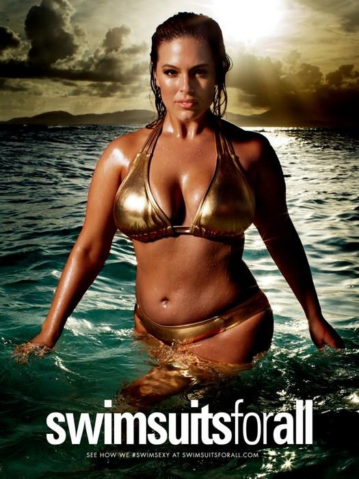 Самые неформатные модели Sports Illustrated: Эшли Грэхэм (Ashley Graham)