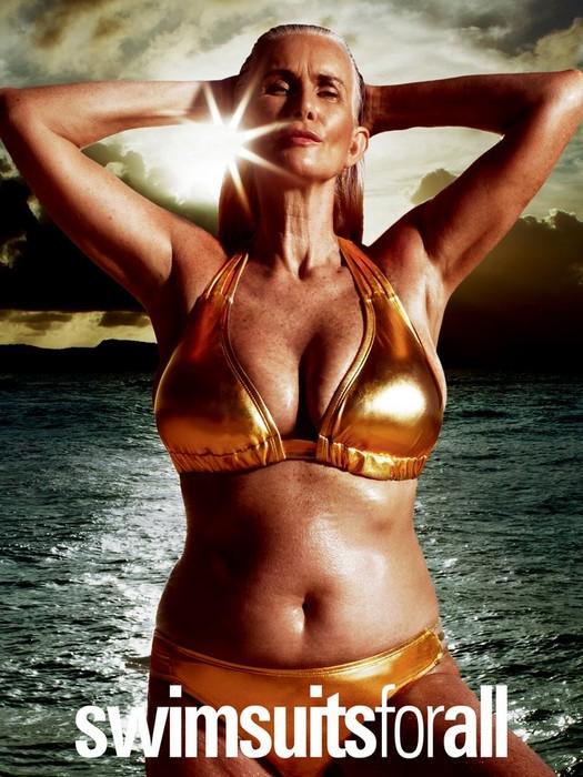 Самые неформатные модели Sports Illustrated: Никола Гриффин (Nicola Griffin)