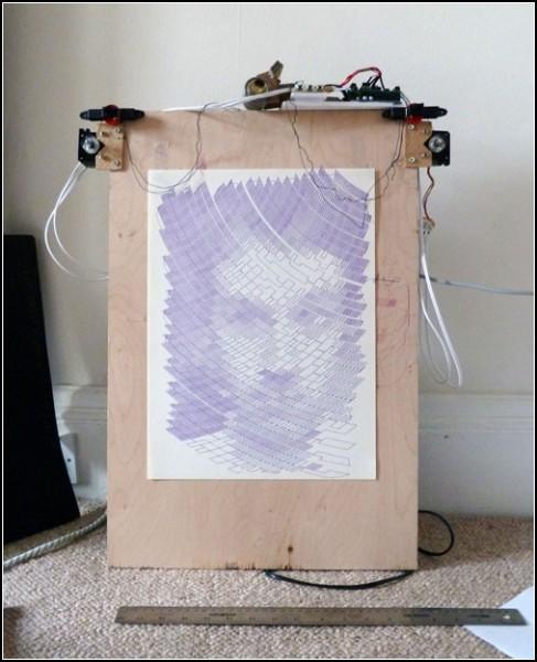 Портрет создателя - Сэнди Нобла в исполнении Polagraph