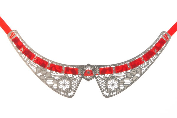 Трендовый отложной воротник из лазерного кружева Polli collar