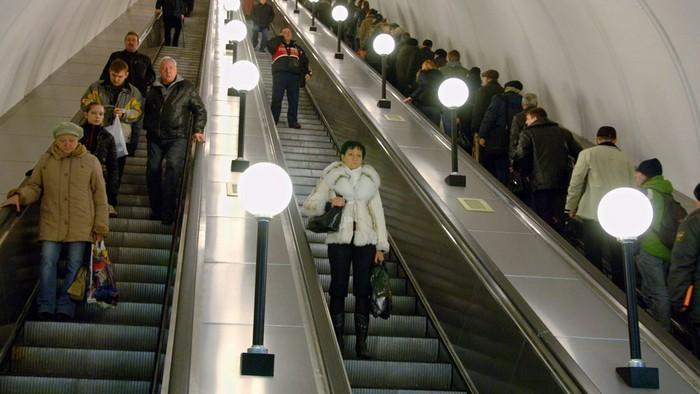 В метро полно вещей, которые мы не замечаем.