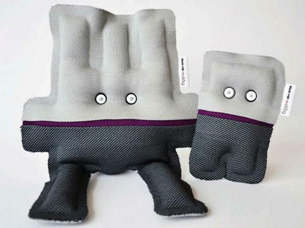 Уникальные куклы из вашей одежды от Ridder & Clown