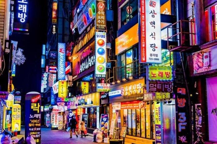 ТОП-10 популярных городов 2017: Сеул.