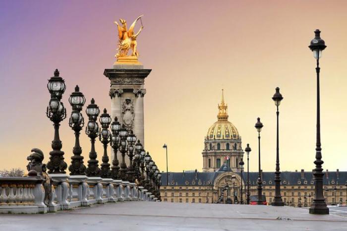 ТОП-10 популярных городов 2017: Париж.