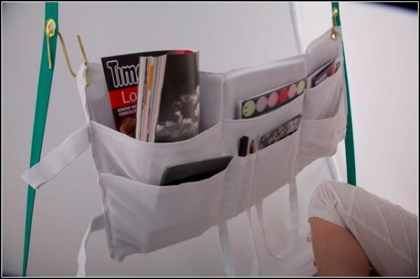 Полочка из сумки для одноместной палатки из юбки