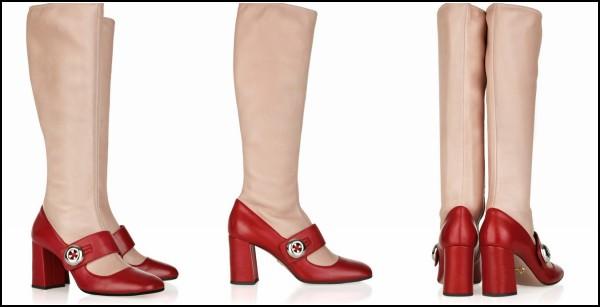 Лимитированная и очень креативная обувь Prada