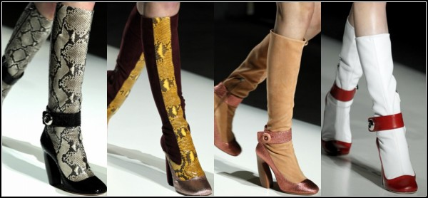 Обувь Prada Mary Jane Boots: коллекция Осень-2011