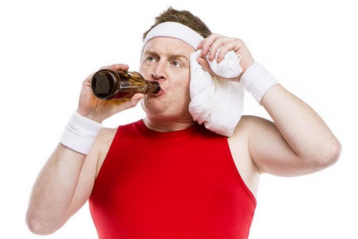 Тренировка перед алкогольным баттлом обязательна.