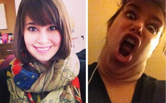 Участницы конкурса «Pretty girls making ugly faces»: не для слабонервных.