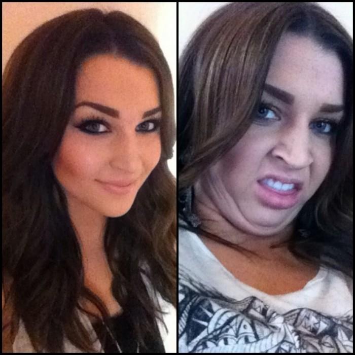 Участницы конкурса «Pretty girls making ugly faces»: хороший макияж – не гарантия хорошего фото.