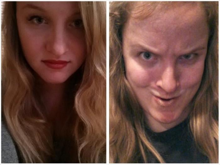 Участницы конкурса «Pretty girls making ugly faces»: не верьте рыжим красоткам.