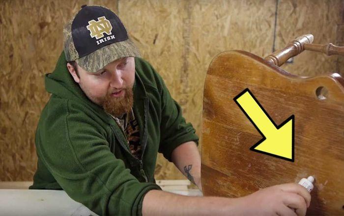 Копеечное средство-«спасатель» для деревянной мебели.