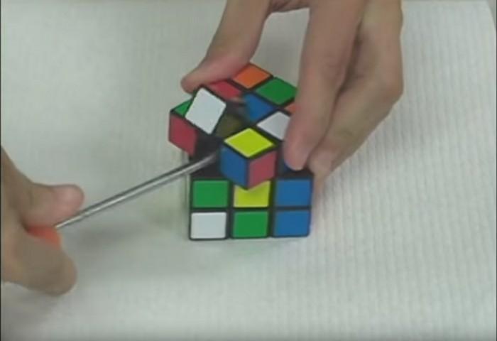 Как ускорить решение кубика Рубика