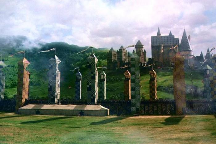 Квиддич – любимая игра волшебников в мире Гарри Поттера