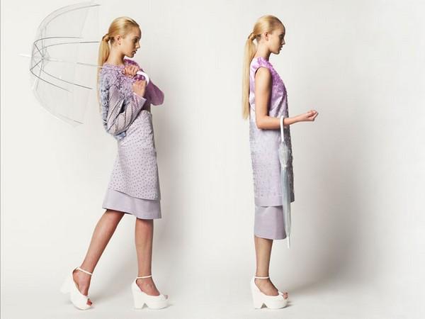 Коллекция платьев-индикаторов «Rain Palette»