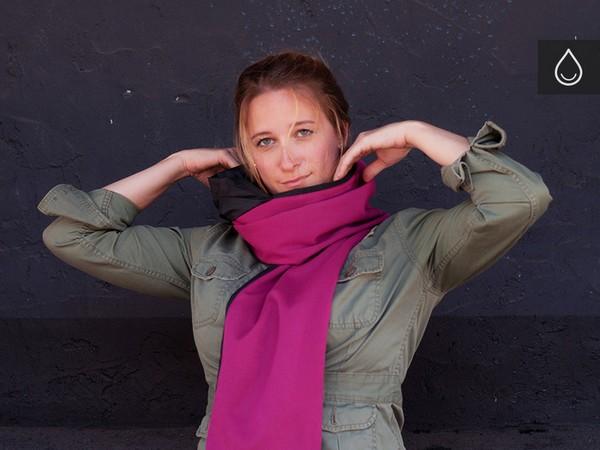 Шарф-дождевик RainScarf от Андре Деттлера (Andre Dettler)