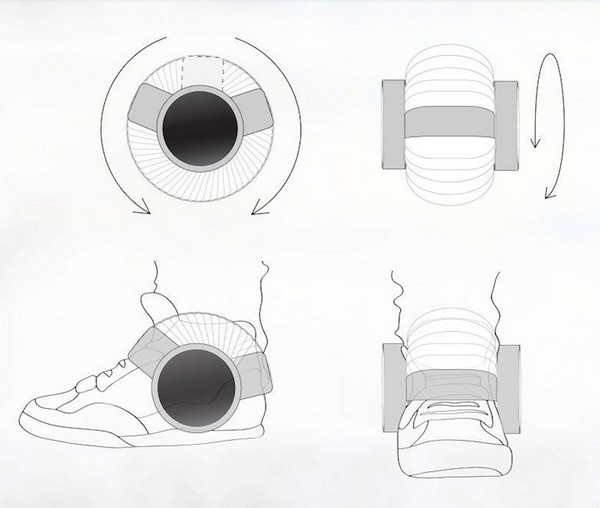 Стильное устройство для навязывания любимой музыки окружающим Sneaker Speaker