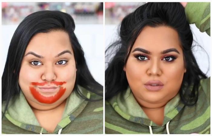 Странные дела: Девушки стали поголовно вымазывать лицо помадой, чтобы быть еще красивее