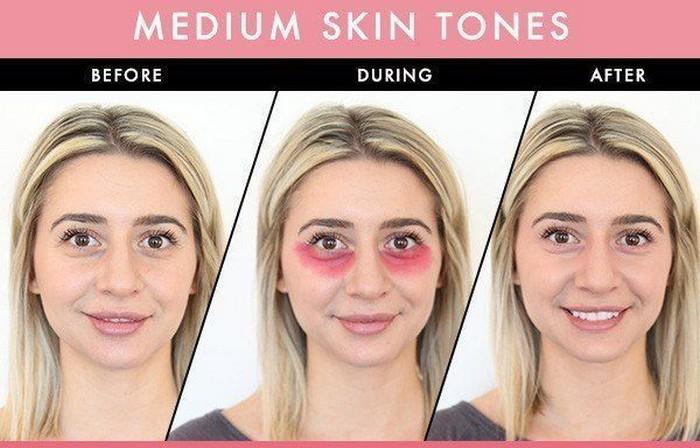 Девушкам среднего тона кожи лучше подойдёт классический красный.
