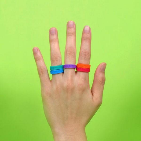 Силиконовые кольца-напоминания Rememberings