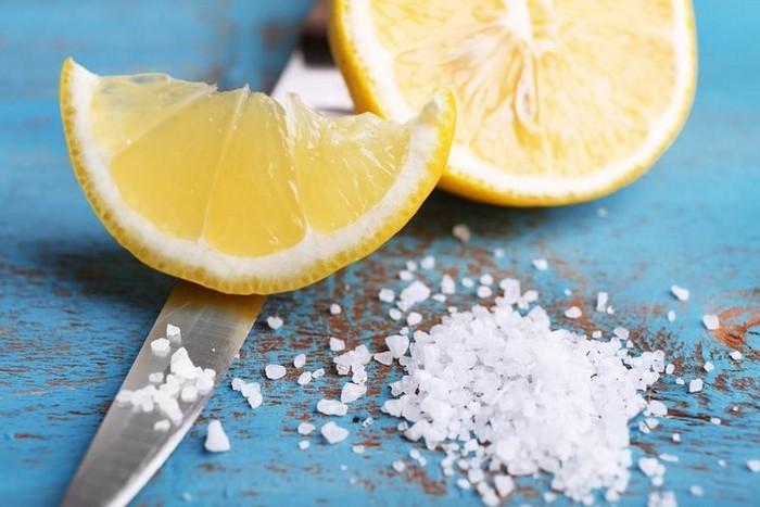Соль + лимонный сок = «тяжёлая артиллерия».