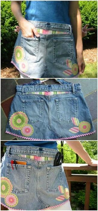 15 крутых идей, что делать со старыми джинсами и джинсовой одеждой