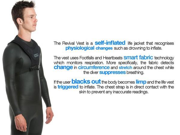 Спасательный жилет для тех, кто предпочитает плавать без акваланга