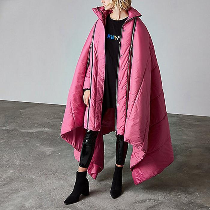 Пальто-«зефирки» вышли на новый уровень.