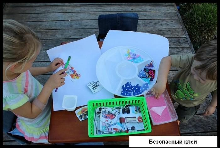 Как сделать полностью безопасный клей для детского творчества из всего 4 ингредиентов