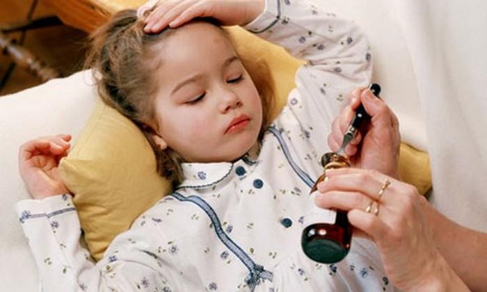 И попробуй заставь ребёнка пить лекарства.