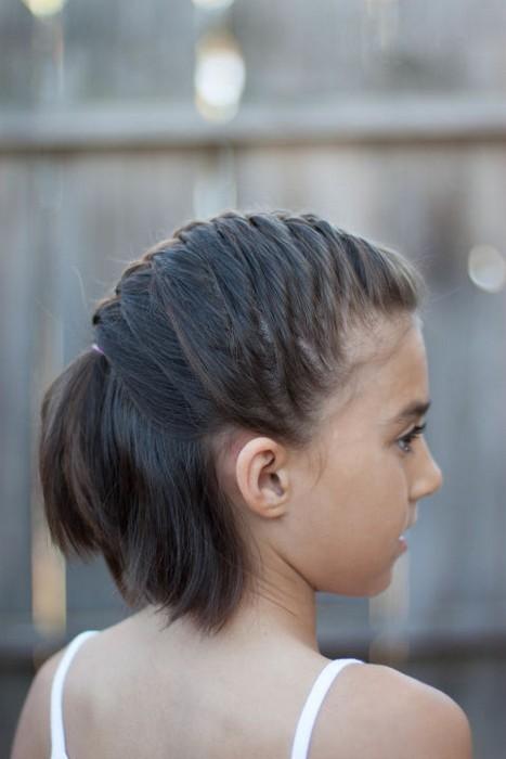 Отличная идея для волос средней длины