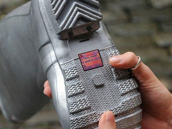 Туфли от фаната шпионства Шона Майлза