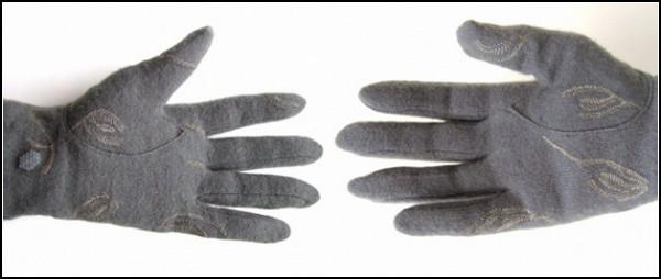 «Шпионские» вязаные перчатки от Мэг Грант