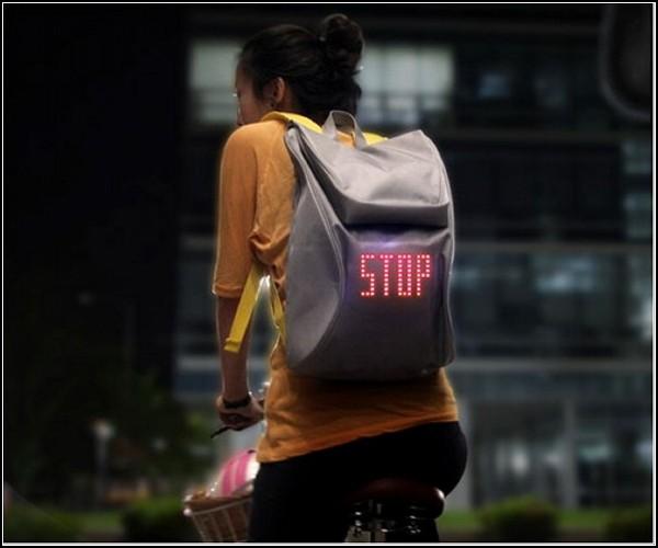 Обзор самых необычных рюкзаков: рюкзак для велосипедистов