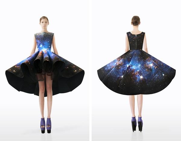 Галактические наряды от  Сетаре Мотарез (Setareh Mohtarez)