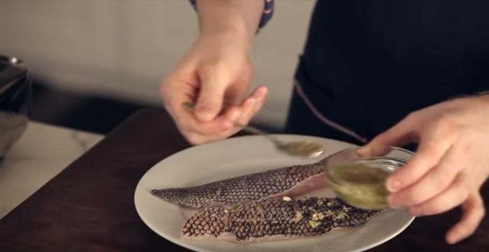 Рыба получится на славу.