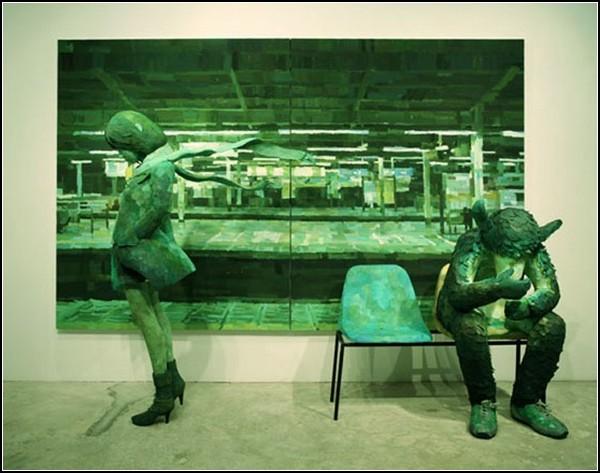 «Живые» 3D-работы Shintaro Ohata