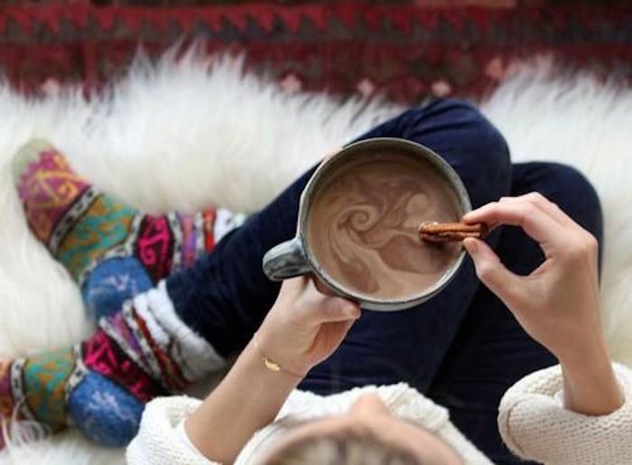 А горячий шоколад тоже считается?