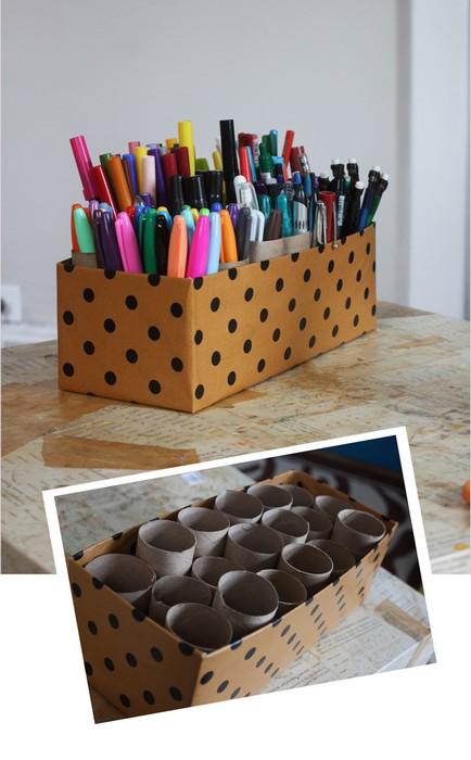 19 крутых вещей, которые можно сделать из обувных коробок