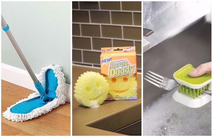 10 находчивых девайсов, которые сделают уборку быстрой и приятной