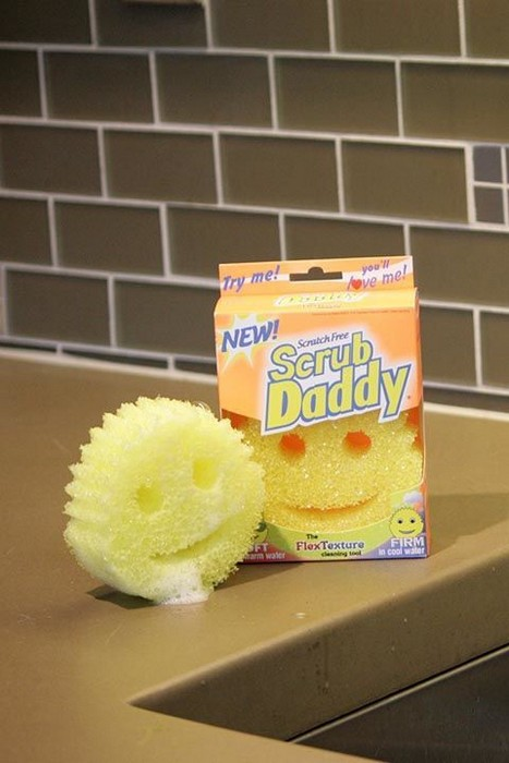 «Scrub Daddy» - губка для любых поверхностей