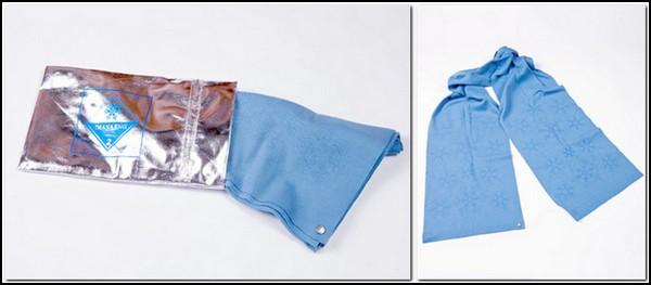 Мини-коллекция «математических» женских шарфов от Дианы Инг (Diana Eng)