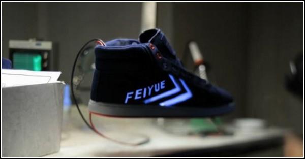 Обзор необычных решений самой удобной обуви: левитирующие кроссовки