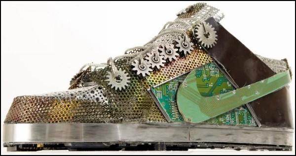Обзор необычных решений самой удобной обуви: кроссовки из мусора
