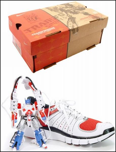 Обзор необычных решений самой удобной обуви: кроссовки-трансформеры