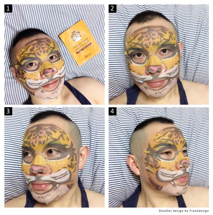 Парни тоже с удовольствием примеряют «звериные маски»
