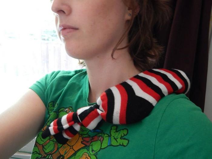Что делать с носком без пары: 15 полезных идей