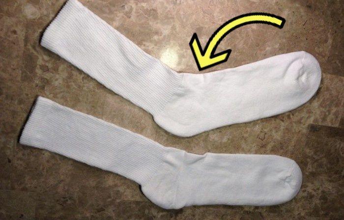Носок против типичной болячки.