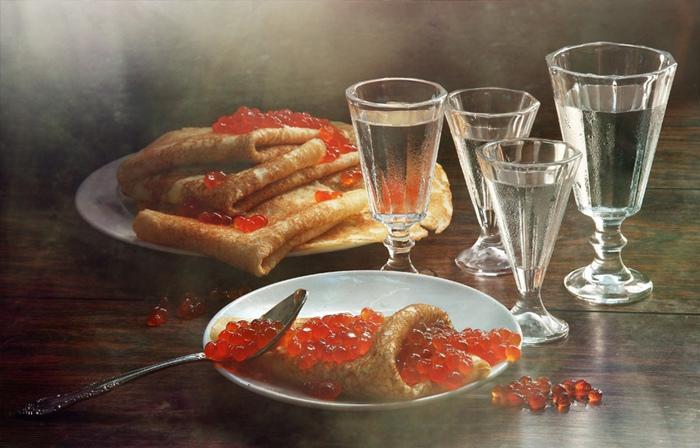 А так видят «русский завтрак» англоязычный Гугл.