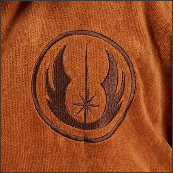 Герб ордена Джедай на велюровом халате